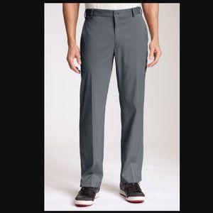 Nike | 36x30 Gray Dri Fit Flat Front Golf Pant